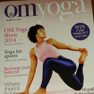Article: OM Yoga & Lifestyle Magazine