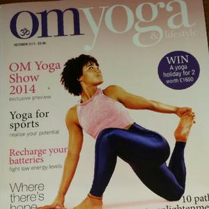 Article: OM Yoga & Lifestyle Magazine