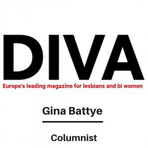 Diva Magazine - Columnist Gina Battye