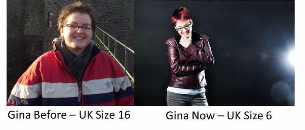 Gina Battye - weight loss