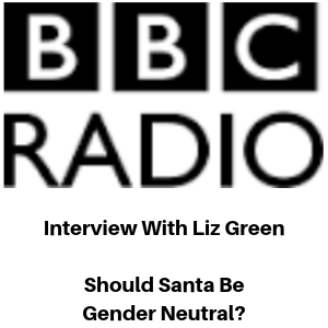 BBC Radio Interview - Should Santa Be Gender Neutral - Gina Battye