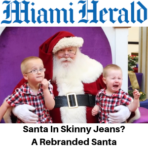Miami Herald - Santa in skinny jeans_ Here's what people think a 'rebranded' Santa should look like - Gina Battye