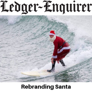 Ledger Enquirer - Rebranding Santa - Gina Battye