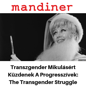 Mandiner - The Transgender Struggle - Gina Battye