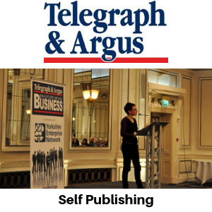 Telegraph & Argus - Self Publishing - Gina Battye