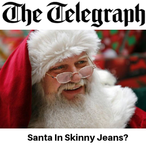 The Telegraph - Santa In Skinny Jeans - Gina Battye