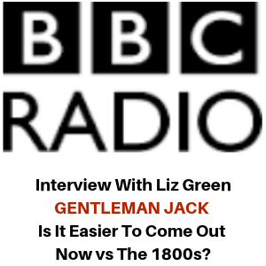 BBC Radio Interview - Gentleman Jack - Gina Battye