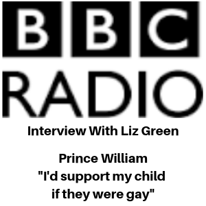 BBC Radio Interview - Prince William - Stigma LGBT - Gina Battye on BBC