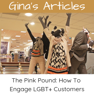 The Pink Pound - How To Engage LGBT+ Customers: Gina Battye