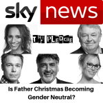 Sky News - Is Father Christmas becoming gender neutral - Gina Battye