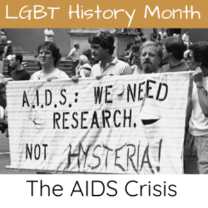 The Aids Crisis - LGBT History Month: Gina Battye