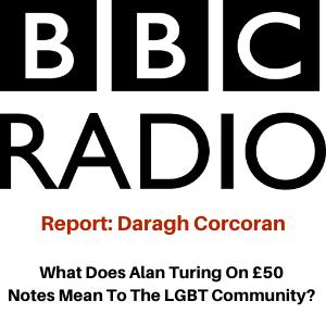 BBC Radio Interview - Alan Turing £50 Note - Daragh Corcoran and Gina Battye
